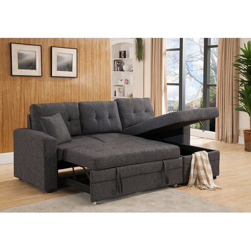 Latitude Run Weymand Reversible Chaise Sectional Amp Reviews