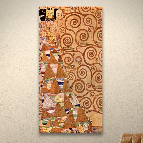 ''Anticipation'' by Gustav Klimt Print of Painting on Canvas