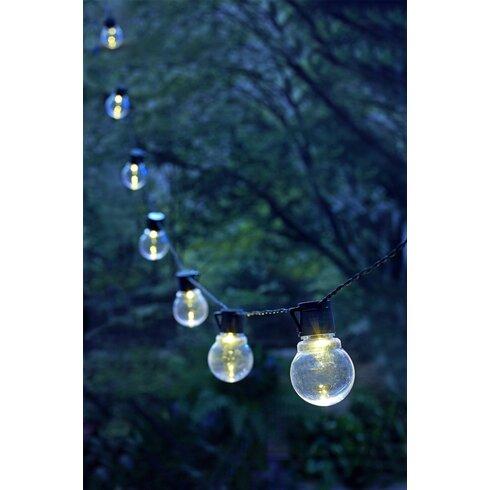 Moonrays String Lights : Moonrays Moonrays LED Globe String Light & Reviews Wayfair