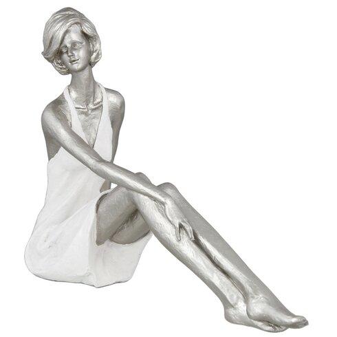 Sitting Lady Figurine