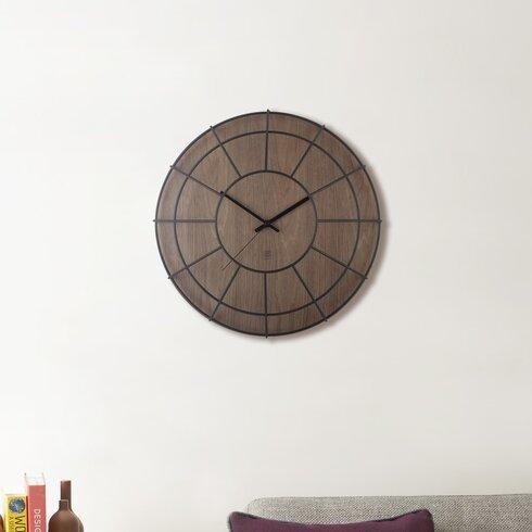"Cage 16"" Wall Clock"