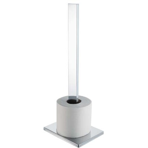 Edge Freestanding Toilet Roll Holder in Chrome