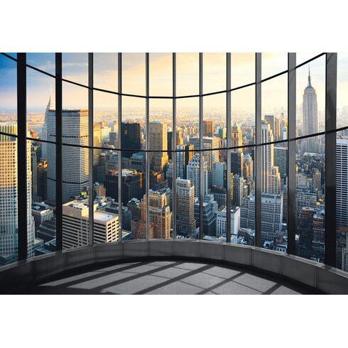 New York Office View Photographic Print