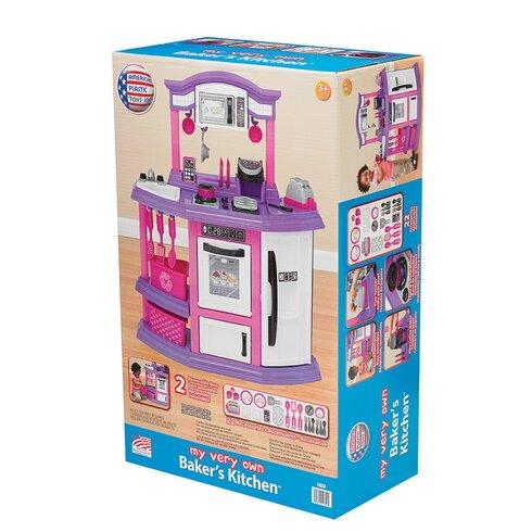 American Plastic Toys Baker S Kitchen