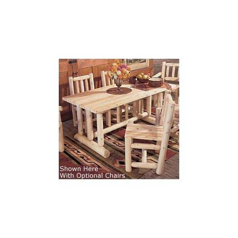 Rustic Cedar Cedar Harvest Family Dining Table & Reviews | Wayfair