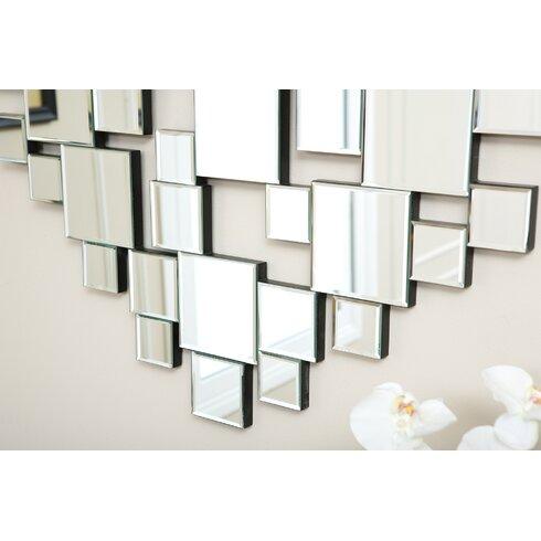 cooper oversized mirrored wall decor reviews joss main - Mirrored Wall Decor