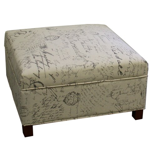 Laughlin Square Storage Ottoman - House Of Hampton Laughlin Square Storage Ottoman & Reviews Wayfair