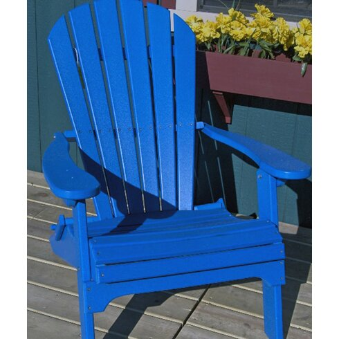 Buyers Choice Phat Tommy Folding Recycled Poly Adirondack