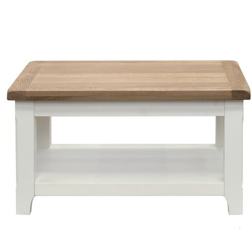 Cape Coffee Table with Magazine Rack