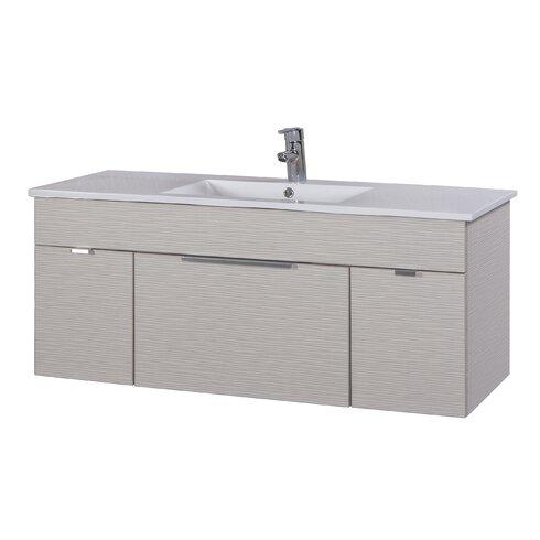 Cutler Kitchen Amp Bath Textures 48 Quot Single Floating Vanity