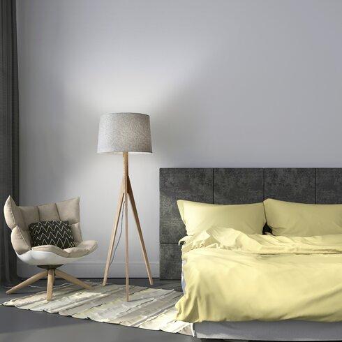 Adesso eden 5925quot tripod floor lamp reviews wayfair for Eden 3 light tripod floor lamp chrome