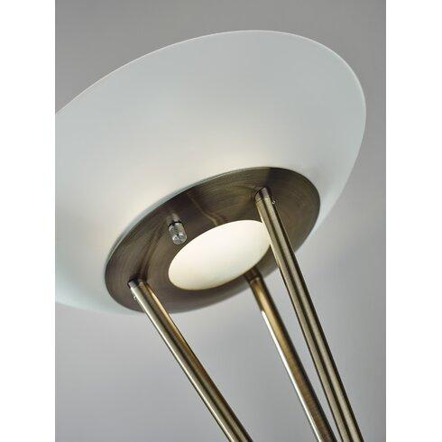 Adesso Gemma 71 75 Quot Torchiere Floor Lamp Amp Reviews Wayfair