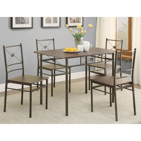 Andover Mills Mayflower 5 Piece Dining SetReviewsWayfair