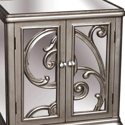Thaxted 2 Drawer Accent Cabinet