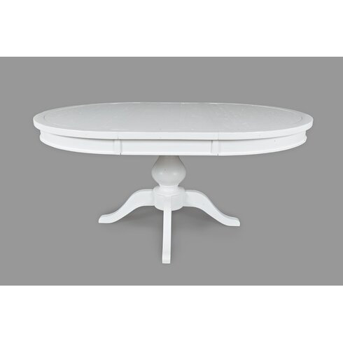 Breakwater Bay Flanders Round To Oval Extendable Dining