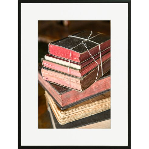 'On The Table 2' by Laurence David Framed Photographic Print