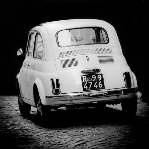 'Fiat 500 2' by Philippe David Framed Photographic Print