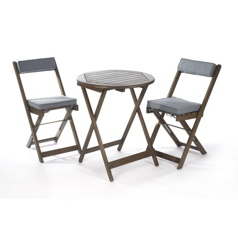 Raffles 2 Seater Bistro Set with Upholstery