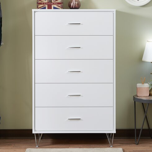 Acme Furniture Deoss 5 Drawer Chest Amp Reviews Wayfair