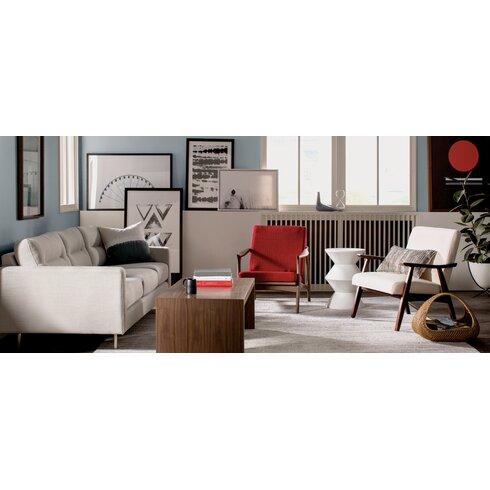 logan sofa reviews allmodern. Black Bedroom Furniture Sets. Home Design Ideas