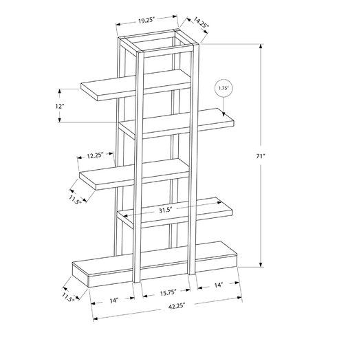 Standard Closet Shelf Height in addition Product besides Richmond 71 Accent Shelves Bookcase MNQ2831 likewise Cabi ry Design besides How To Choose A Drawer Slide. on cabinet shelf