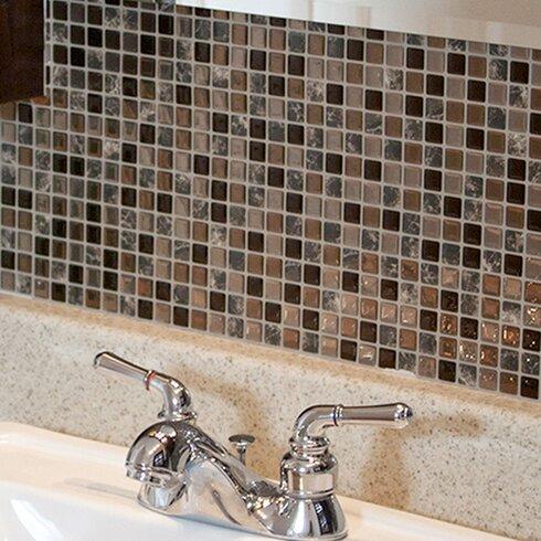 Smart Tiles Mosaik Minimo Roca X Peel Stick Wall Tile In Brown Reviews Wayfair