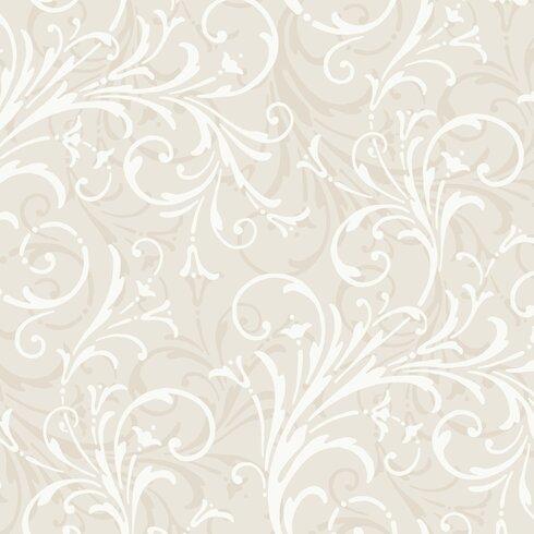 "Peek-A-Boo 27' x 27"" Layered Wallpaper"