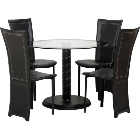 Beane Dining Set with 4 Chairs