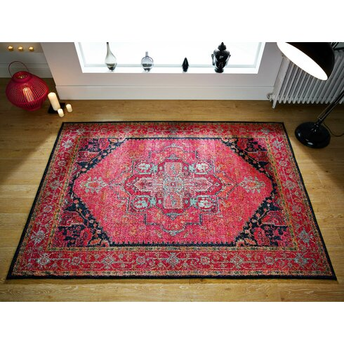 Latitude Vive Alpha Pink Area Rug Amp Reviews Wayfair Co Uk