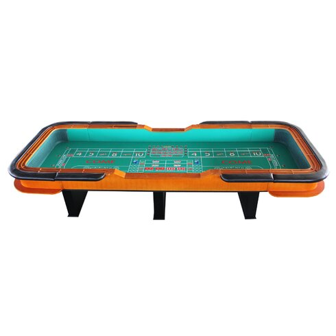 Idsonlinecorp 12 39 deluxe craps dice table with diamond for 12 craps table