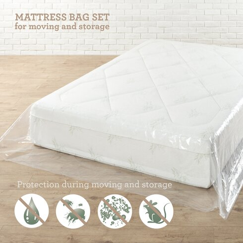 Anew Edit Moving and Storage Waterproof Mattress Protector