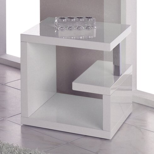 Holtby Side Table with Storage