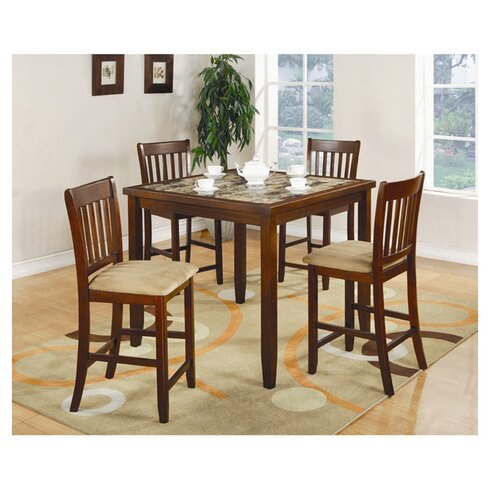 studio hanley 5 piece counter height dining set reviews