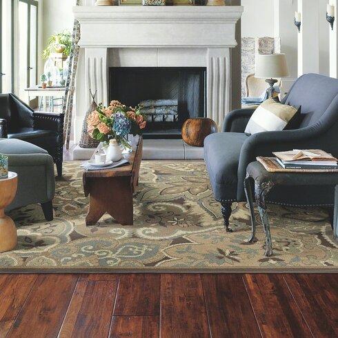 "Shaw Floors Gilbert 8"" Solid Hickory Hardwood Flooring in ..."