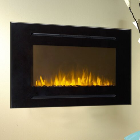 Forte Wall Mount Electric Fireplace Reviews Allmodern