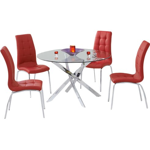 Dawson Dining Set with 6 Chairs