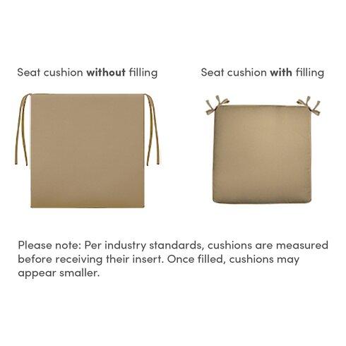 Courtyard Dining Chair Cushion