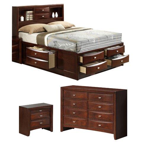 global furniture usa linda platform customizable bedroom set reviews wayfair ForLinda Platform Customizable Bedroom Set