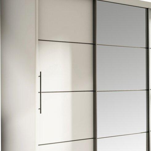 Luciano 3 Door Sliding Wardrobe