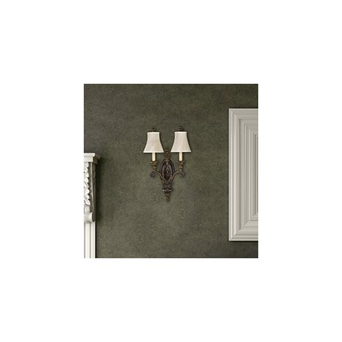 Drawing Room 2 Light Armed Sconce
