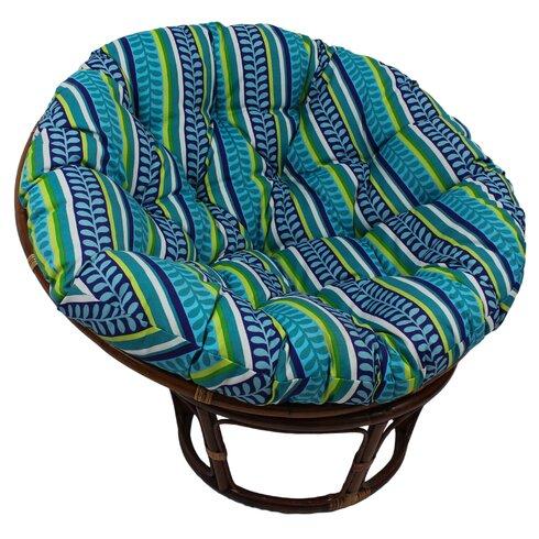 Blazing Needles Outdoor Papasan Cushion & Reviews