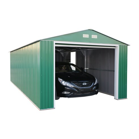 Duramax Imperial 12 Ft W X 20 Ft D Metal Garage Shed