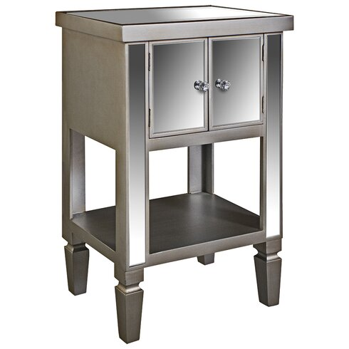 Museum Side Table with Storage