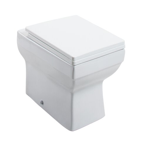 Dice Back to Wall Toilet with Seat