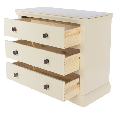 Woolton 3 Drawer Chest of Drawers