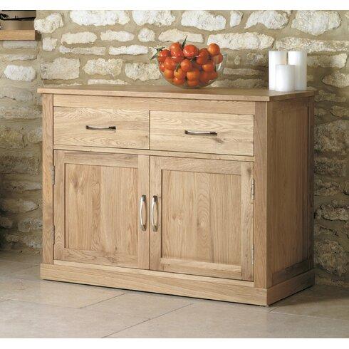 Mobel Oak 2 Door 2 Drawer Combi Chest