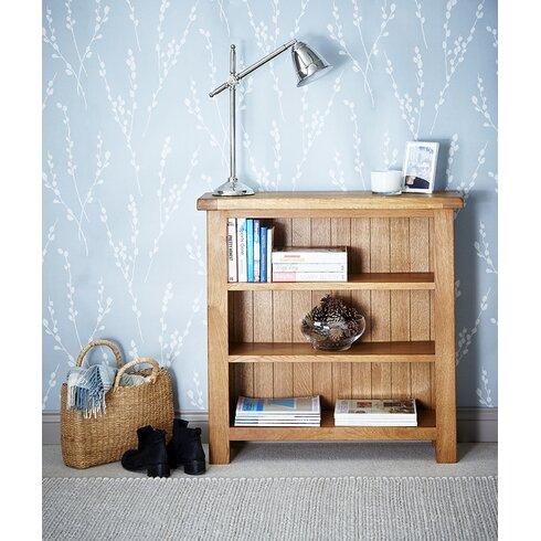 Cardalea Low Wide 90cm Standard Bookcase