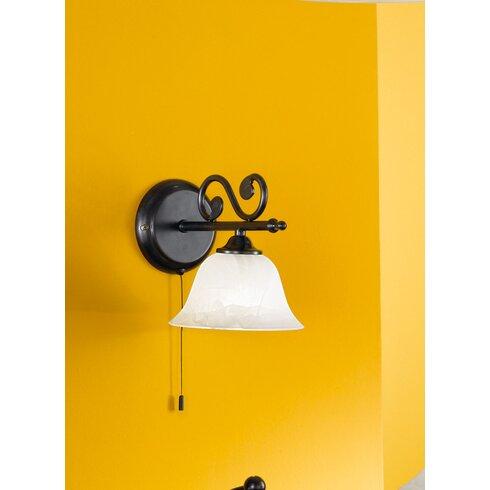 Murcia 1 Light Semi-Flush Wall Light