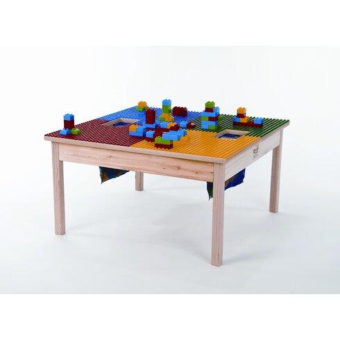 "SynergyManagement 32"" x 32"" Fun Builder Table & Reviews ..."