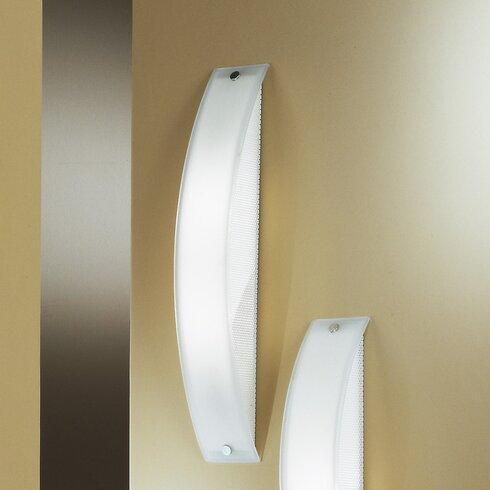 Bari 1 Light Flush Wall Light